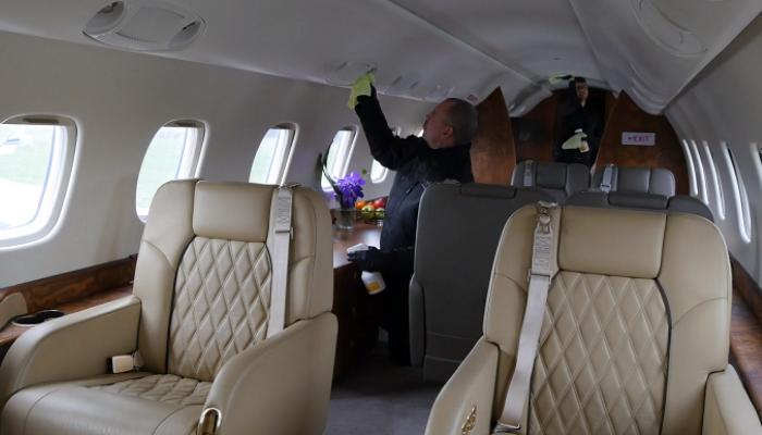 nettoyage jet privé - PrivateFly