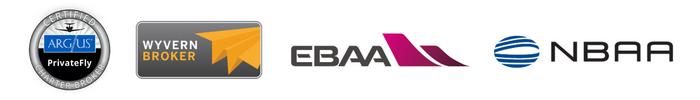 Logos Argus, Wyvern, EBAA et NBAA - PrivateFly