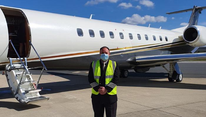 santé de l'équipage en jet privé