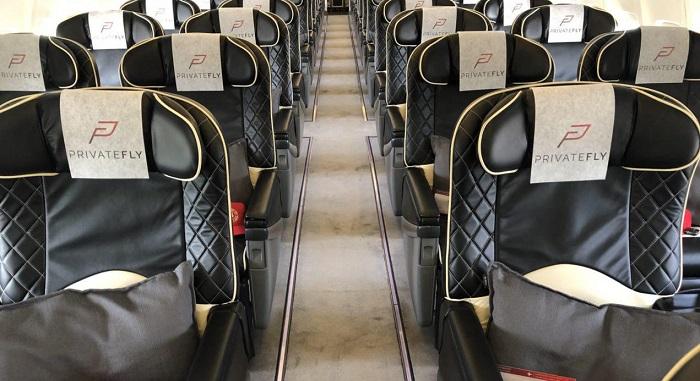 BBJ VIP seats