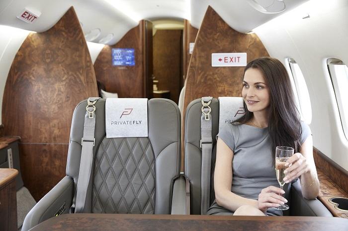 Volez comme vous voulez avec le Jet Account de PrivateFly