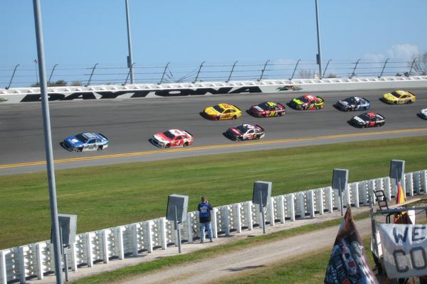 Daytona 500 by Private Jet