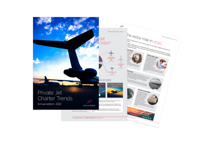 Private jet trends 2020