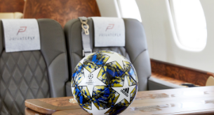 private jet charter euro 2020 football