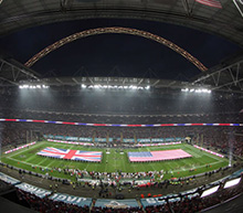 NFL International Series by private jet