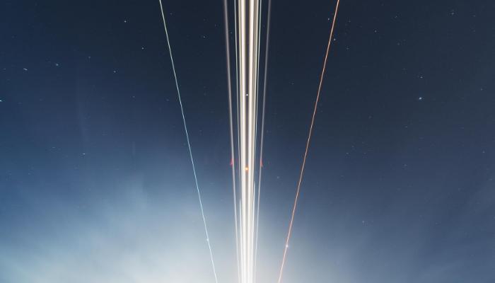 Night sky jet account