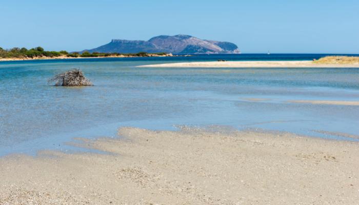 Olbia beach