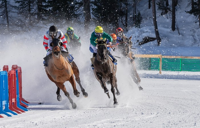 St Moritz Polo World Cup on Snow en jet privé