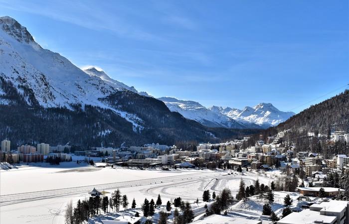 St Moritz en jet privé