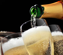 champagne day trip by private jet