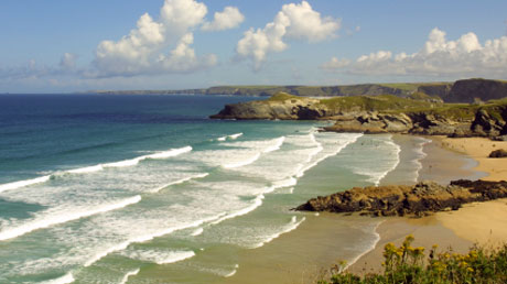 private flights to Cornwall