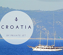 Croatia by private jet