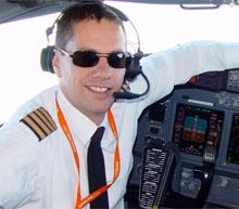 Pilot Eric Swaffer