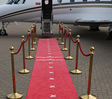 Film festival by private jet