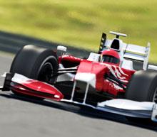 Formula One flights