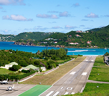 Private flights to islands