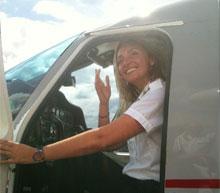 Pilot Mary Betts