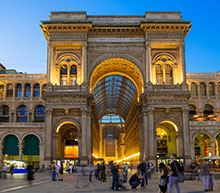 private flights Milan
