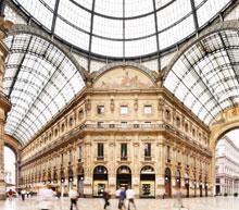 private flight to Milan