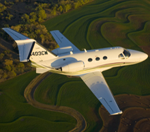 private jet charter to Davos