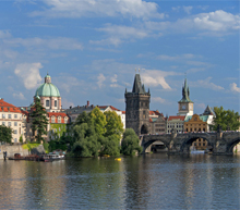 Prague by private jet