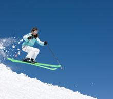 ski weekend flight